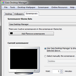 Gaia Desktop Manager 1.00 beta 5 released