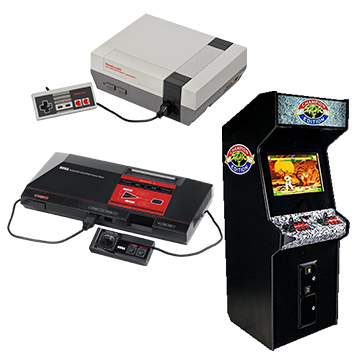 Retrogaming, play your old games today