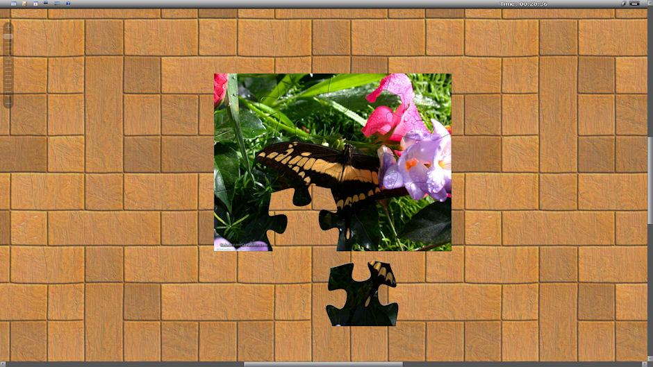 Easy jigsaw puzzle for children