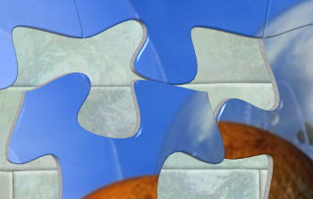 High quality jigsaw puzzle pieces